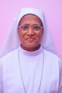 Rev.Sr. Lilly Gonsalves. Superior Lourdes convent Kanajar